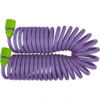 Шланг PALISAD спиральный, 7,5 м*10 мм, пластм. фурн,(адаптер 1/2-3/4 + разбрызгиватель) 67412