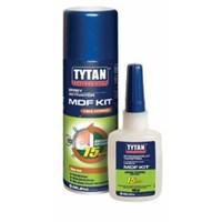 Клей TYTAN двухкомпонентный цианакрилатный для МДФ, прозрачный 200 мл+50г. IVO0007936