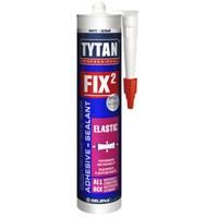 Клей TYTAN монтажный Fix² Elastic, белый, 290 мл. 10041899