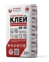 Клей ШАХТИНСКИЕ СМЕСИ для керамичечкой плитки SВ-30 25 кг