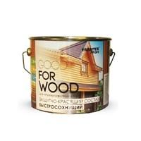 Состав FARBITEX защитно-красящий для древесины быстросохнущий рябина 3л FПW