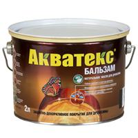 Средство натуральное для древесины Акватекс-бальзам иней 2л