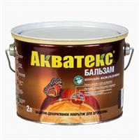 Средство натуральное для древесины Акватекс-бальзам палисандр 2л