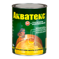 Средство РОГНЕДА АКВАТЕКС-ЭКСТРА защитно-декоративное сосна 0,8л