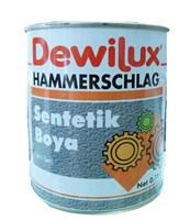 Эмаль молотковая DEWILUX светло-коричневая, 2,5л 6016
