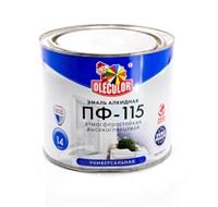 Эмаль OLECOLOR ПФ-115 шоколад 2,7кг