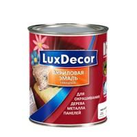 Эмаль LUX DECOR акриловая глянцевая Горячий шоколад 0,75л 011379