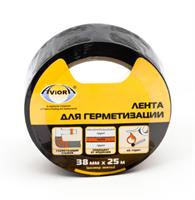 Лента для герметизации 38мм*25м AVIORA черная арт.302-049