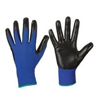 Перчатки МАКО универсальные Micro Grip 10/X вязаные из нейлона с нитрильным покрытием 951210
