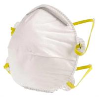 Респиратор MAKO для защиты от мелкодисперсной пыли, 3 шт. 852403SB