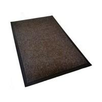 Коврик KOVROFF КОМФОРТ влаговпитывающий 90*120см 40403 коричневый