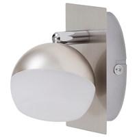 Светильник BRILONER BESON светодиод, металлопластик, 2хLED/3,7W 350lm 3000K, 304x80x125мм, 2045-012