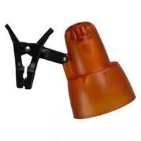 Cветильник ULTRA LIGHT КТ-034А Е14, прищепка, 40 Вт, 220 В, R50, прозр/оранжевый