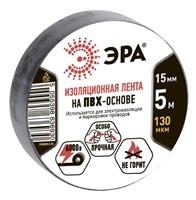 Изолента ПВХ 15мм*5м ЭРА черная