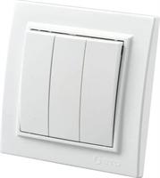 Выключатель ZERA EGP 3 белый 700-0200-205