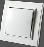 Выключатель ZERA EGP кремовый проходной 700-0300-209