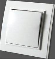 Выключатель ZERA EGP кремовый с/п 700-0300-201