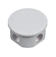 Коробка распределительная EGP кругл. белый d90/50 IP20(168шт)