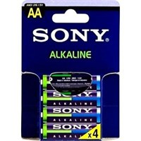 Батарейка SONY LR6/4 Alkaline Stamina Plus AA 4шт ЭКО AM3L-B4D