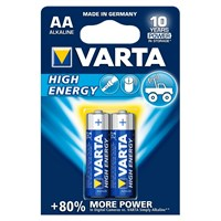 Батарейка VARTA High Energy Mignon 1.5V-LR6/AA арт.0003-4906-121-412 (2шт)