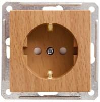 Розетка WESSEN W59 RS16-152-8-86 скр.уст. 1-2К+З со шторками б/рамки (250В,16А)