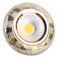 Спот MR16 YS7003 MARBLE+GOLD GU5,3 143-15872
