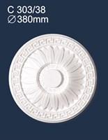 Розетка потолочная С303/38 (1*8)