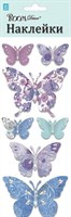 Элемент декоративный ROOM DECOR Бабочки декупаж-сиреневые RKA 7602