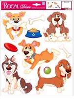 Элемент декоративный ROOM DECOR Веселые щенки, REA 2707 В
