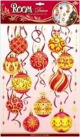 Элемент декоративный ROOM DECOR Желто-красные шары WDX 5730