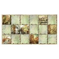Панель ПВХ Граненый квадрат Венеция 960*480мм ТП10013062