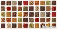 Панель ПВХ Мозаика Щедрый урожай 955х480мм ТП10013993