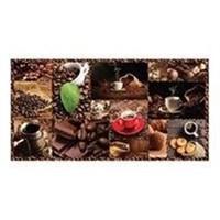 Панель декоративная ПЛАСТМАРКЕТ Кофе каф.плитка 485х960мм ПВХ 386