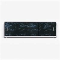 Экран для ванн 1,5м ОПТИМА 25 черный мрамор