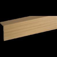 Уголок GRACE ПВХ арочный RICO moulding 10*20*2700 №120 (Дуб рустикальный)