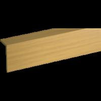 Уголок GRACE ПВХ арочный RICO moulding 10*20*2700 №123 (Дуб золотистый)