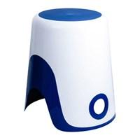 Корзина FIXSEN WENDY для белья 2 в 1 синяя FX-7073-89