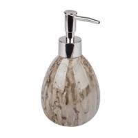 Дозатор АКВАЛИНИЯ для жидкого мыла Оникс коричневый керамика CE1033