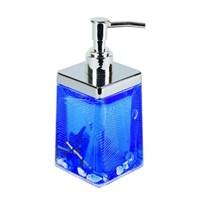Дозатор АКВАЛИНИЯ для жидкого мыла Синие ракушки