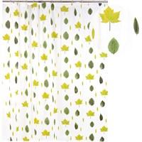 Штора для ванной АКВАЛИНИЯ (листья) 1,8*1,8 003-05