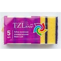Губка TZLINE куханная универсальная MAXI LUX 5 шт