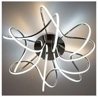 Светильник ESTARES светодиодный LIANA MUSE 80W R-600-WHITE/OPAL-220-IP20/4000К