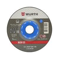 Диск шлифовальный WURTH D180*6,0*22,2мм RED (сталь) 669260186