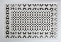 Экран для радиатора Модерн Плюс рамка Сусанна/Цирко бел. 600х1200мм