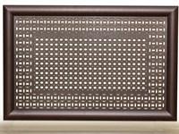 Экран для радиатора Модерн Плюс рамка Сусанна/Цирко венге 600х1200мм
