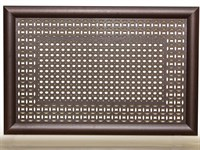 Экран для радиатора Модерн Плюс рамка Сусанна/Цирко венге 600х900мм