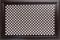 Экран для радиатора Модерн рамка Gotico венге 600*1200мм