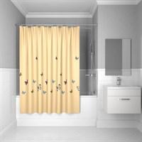Штора IDDIS для ванной комнаты Yellow Butterfly 200*200 SCID033P