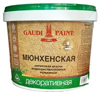 Краска декоративная Гауди МЮНХЕНСКАЯ 2.5 25 кг