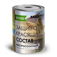 Состав FARBITEX ПРОФИ GOOD FOR WOOD акриловый защита-красящий Аквалазурь орегон 0,9л